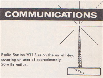 Insert from an early 60's era booklet on Tallassee