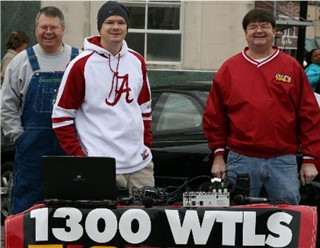 Mike Harper, Michael Butler & Steve Butler at 2008 Christmas Parade